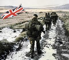 Falklands War 1982 -tensions rise, but a repetition is unlikely.             Source: BBC