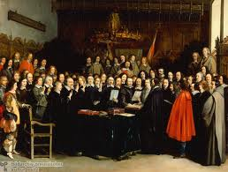 Ratification of the Peace of Westphalia, 1648