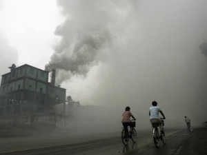 Pollution as a consequence of rapid industrialisation