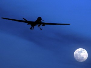 U.S. Predator drone flies over Kandahar Air Field (Source: AP Photo/Kirsty Wigglesworth)