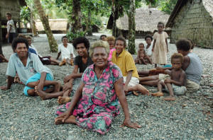 Solomon Islands: Women were important players in determining a successful road to peace on the islands, especially when male political leaders were unable or unwilling to offer support.  (AAP Image/Lloyd Jones)