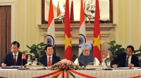 This past July, India reached out a notably munificent hand to Vietnam's defense forces with a credit line of $100 million for military equipment. It was only a matter of time before ...