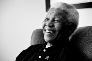 Nelson Rolihlahla Mandela  18 July 1918 – 5 December 2013 (Image by Matthew Willman)