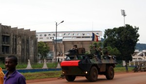 French soldiers, shown on patrol in Bangui, are to receive reinforcements under a new agreement between France and the Central African Republic