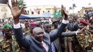 After ousting Bozizé, Seleka leader Michel Djotodia proclaimed himself President.