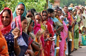 India's women represent 49 percent of the electorate and are thus in a position in which their rights can no longer be ignored by politicians.