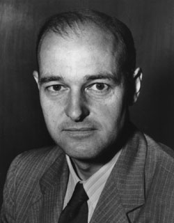 "George Frost Kennan (February 16, 1904 – March 17, 2005) was an American adviser, diplomat, political scientist, and historian, best known as ""the father of containment"" and as a key figure in the emergence of the Cold War.  (Image: Wikimedia)"