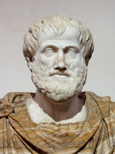 Aristotle, 384 – 322 BCE, was a Greek philosopher.His writings cover many subjects – including physics, biology, zoology, metaphysics, logic, ethics, aesthetics, poetry, theater, music, rhetoric, linguistics, politics and government – and constitute the first comprehensive system of Western philosophy. (Image: Wikimedia)